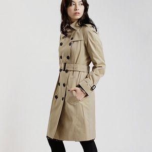 Burberry Brit Beige long coat